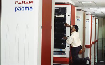 Param Padma Supercomputer Art Print