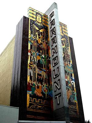 Photograph - Paramount Theater Oakland by Kelly Manning