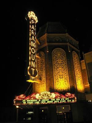 Paramount Theatre Illinois Art Print by Todd Sherlock