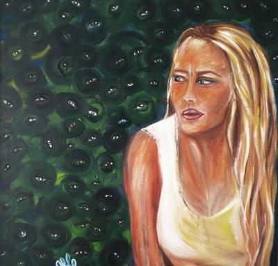 Painting - Paranoia by Yesi Casanova