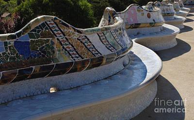 Parc Guell Spain Art Print