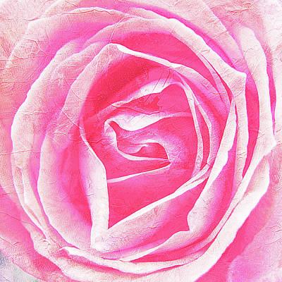 Parfume Of Roses Art Print by Susanne Kopp