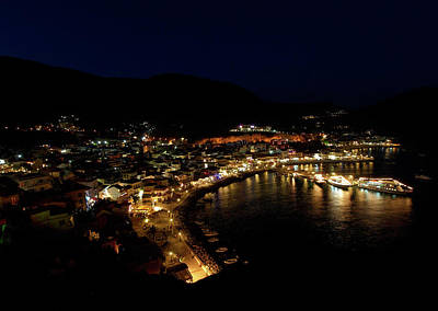Photograph - Parga By Night by Jouko Lehto