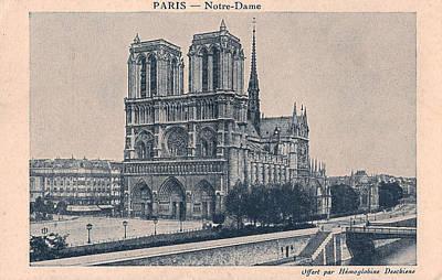 Paris - Notre Dame Art Print