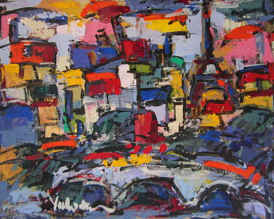 Painting - Paris 55 by Len Yurovsky