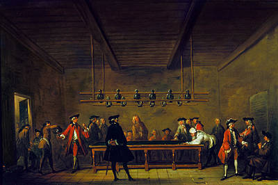 Photograph - Paris: Billiards, 1725 by Granger