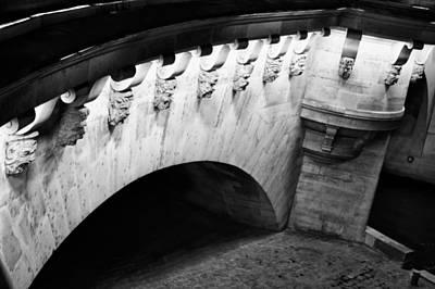 Photograph - Paris Bridge On The Seine by Tony Grider