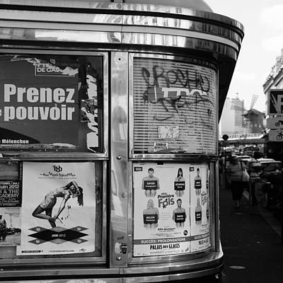 Photograph - Paris Diner 2 by Andrew Fare