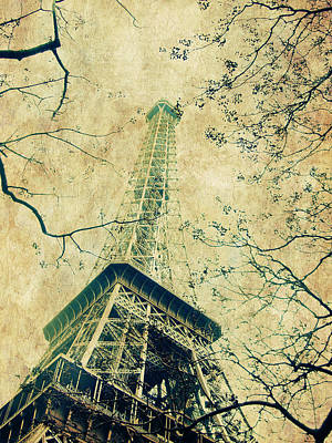 Paris Eiffel Art Print by Antonietta Pics