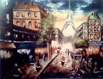 Painting - Paris by Elizabeth Marks