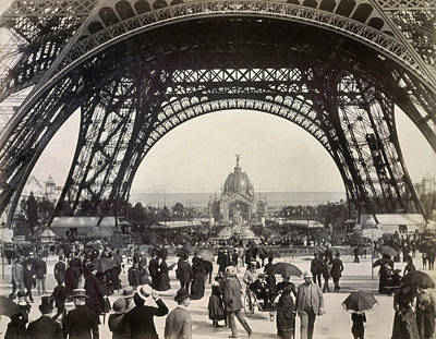 Photograph - Paris Exposition, 1889 by Granger