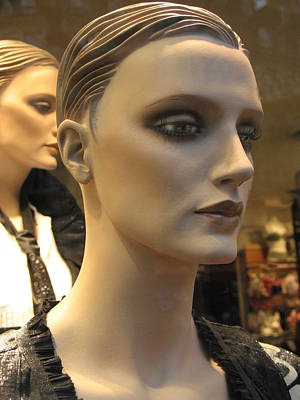 Photograph - Paris Female Faces Beautiful Mannequin Art by Kathy Fornal