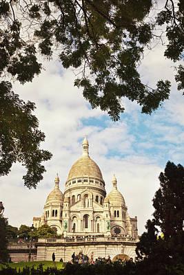 Sacre Coeur Photograph - Paris, France. by Buena Vista Images