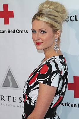 Paris Hilton At Arrivals For American Art Print by Everett