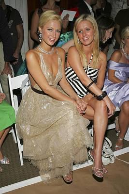 Paris Hilton, Nikki Hilton At Arrivals Art Print by Everett