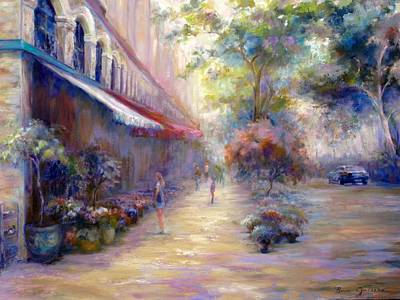 Painting - Paris In The Summer by Bonnie Goedecke