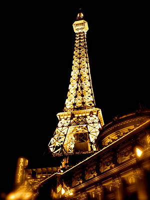 Photograph - Paris In Vegas by Amber Hennessey
