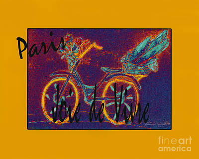 Art Print featuring the photograph Paris  Joie De Vivre by Glenna McRae