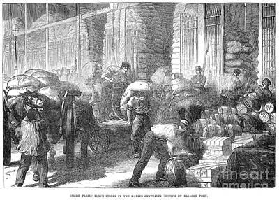 Paris: Les Halles, 1870 Art Print by Granger