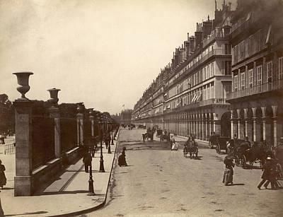 Photograph - Paris: Rue De Rivoli, C1900 by Granger