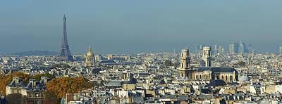 Hotel Des Invalides Photograph - Paris, Saint-sulpice, Eiffel Tower And Nvalides by Bruno Morandi