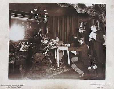 Photograph - Paris Seance 1898 by Granger