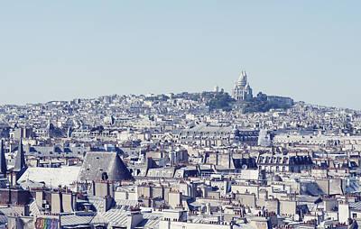 Sacre Coeur Photograph - Paris Skyline by Carlo A