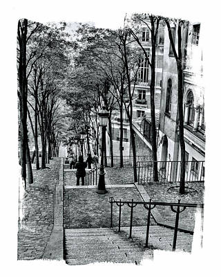 Photograph - Paris Stairway by Gordon Engebretson