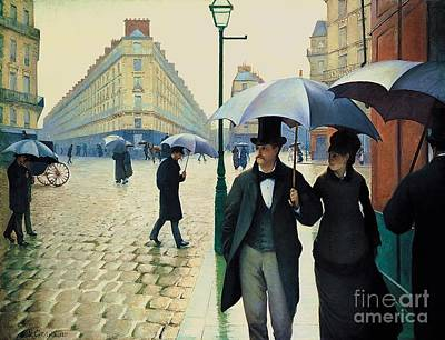 Painting - Paris Street - Rainy Day by Pg Reproductions