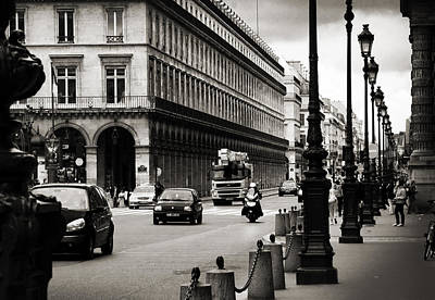 Photograph - Paris Street by RicharD Murphy