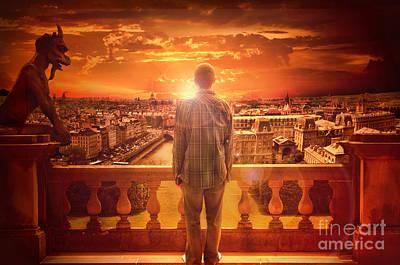 Book Of James Digital Art - Paris Sunrise  by Eugene James
