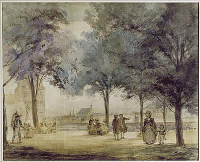 Photograph - Paris: Tuilerie Gardens by Granger