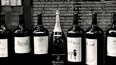 Paris Wine Shop Print by Tony Grider