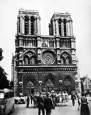 Paris: World War II, 1940 Art Print by Granger