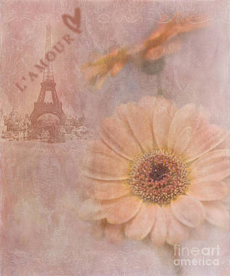 Paris Digital Art - Parisian Oooo La La by Betty LaRue