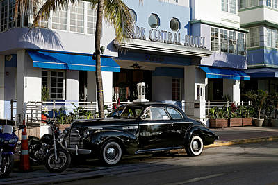 Photograph - Park Central Hotel. Miami. Fl. Usa by Juan Carlos Ferro Duque