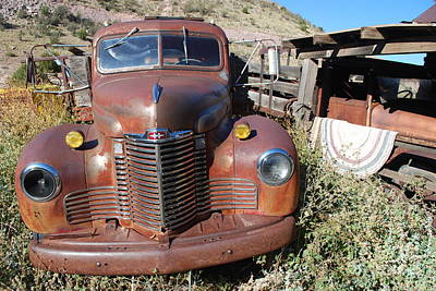Jerome Arizona Photograph - Parked In The Past by Heather Kirk