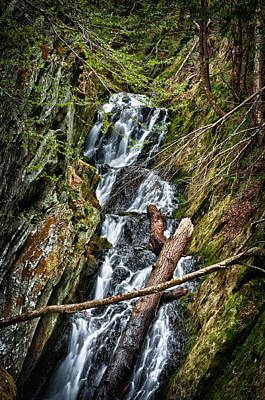 Photograph - Parker Falls by Fred LeBlanc