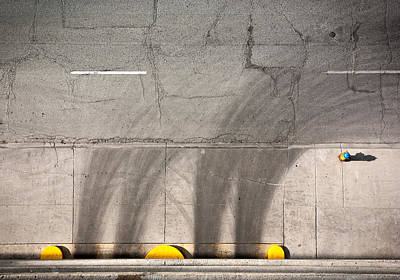 Fire Hydrants Photograph - Parking Garage by Cale Best
