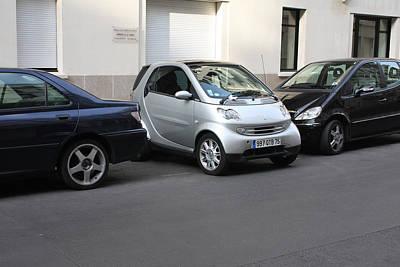 Parking In Paris Art Print