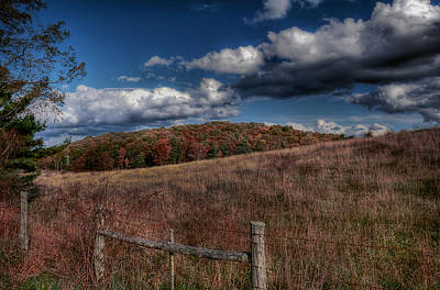 Parkway Fence Art Print by Todd Hostetter