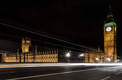 Parliament At Night Original by Vinicios De Moura