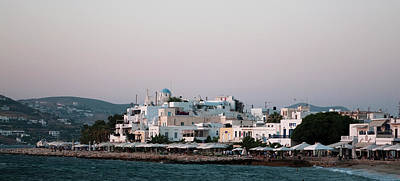 Photograph - Paros Panorama by Lorraine Devon Wilke