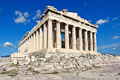 Parthenon - Greece Art Print by Constantinos Iliopoulos