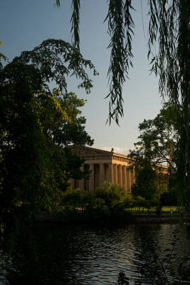 Willow Lake Photograph - Parthenon At Nashville Tennessee 14 by Douglas Barnett