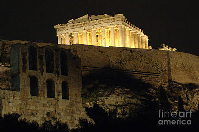 Parthenon Athens Art Print by Bob Christopher