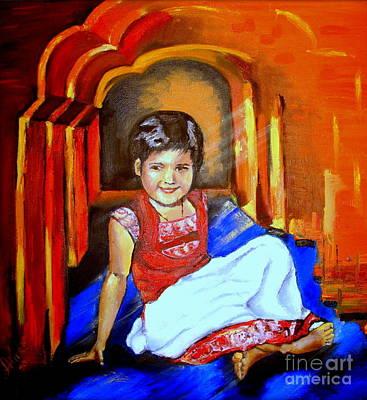 Parvati Art Print by Tatjana Andre