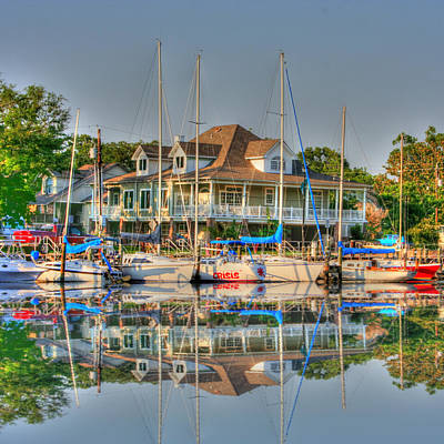 Photograph - Pascagoula Boat Harbor by Barry Jones