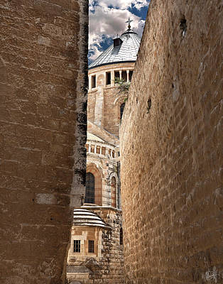 Photograph - Passage To The Armenian Church by Endre Balogh