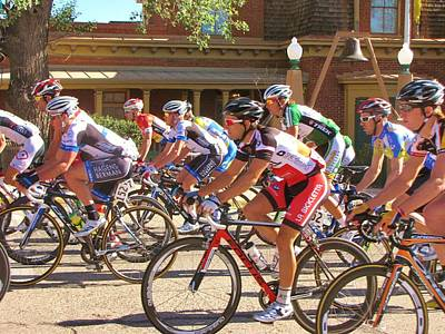 Tour Of The Gila Photograph - Passing The Silver City Museum by Feva  Fotos